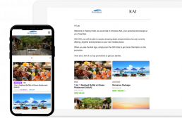 KAI - eConcierge Solution. Digitise, market and sell your hotel's services.